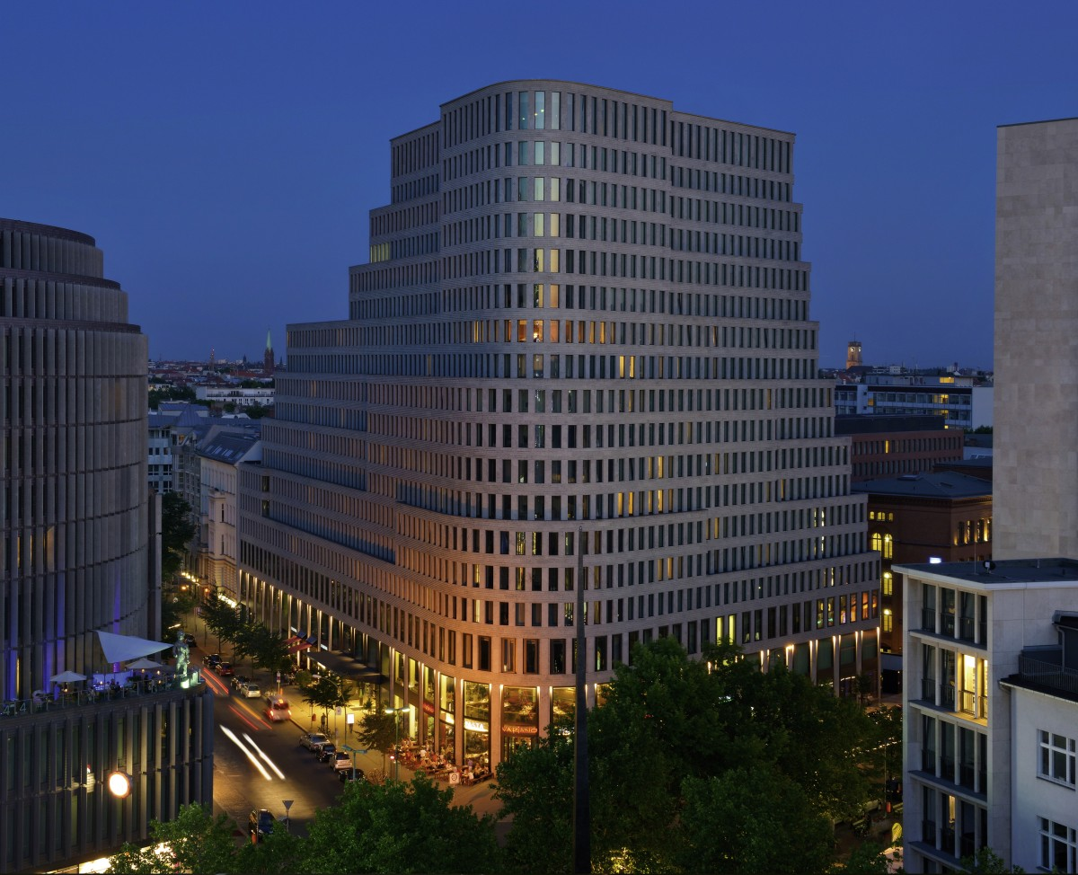 Sofitel berlin kurf rstendamm location for Top hotels in berlin