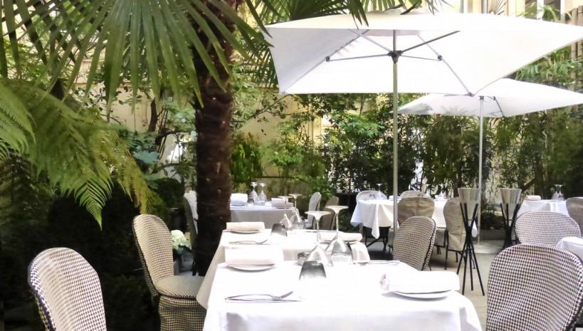 Sofitel paris le faubourg le jardin for Au jardin restaurant singapore botanic gardens