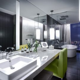 gallery Classic Twin Bathroom