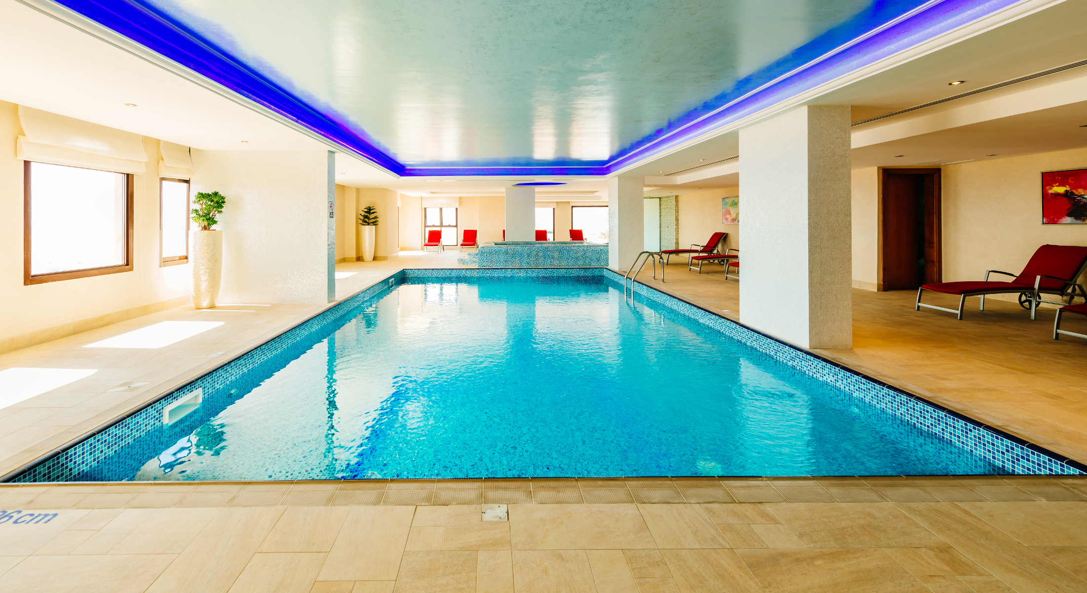 Marjan Island Resort Spa Gym Indoor Pool