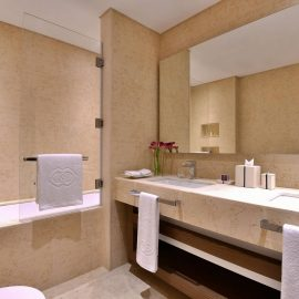 Sofitel Dubai Wafi Bedroom Apartment Master Bathroom WEB