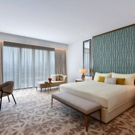 Sofitel Dubai Wafi Bedroom Apartment Master Bedroom WEB