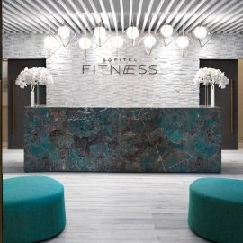 Sofitel Dubai The Obelisk Fitness Reception x