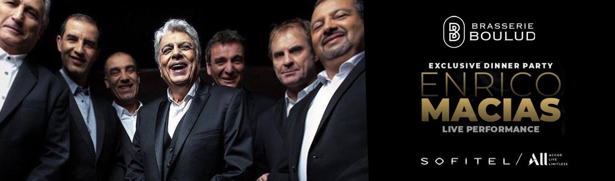 Enrico Macias at Brasserie Boulud Dubai