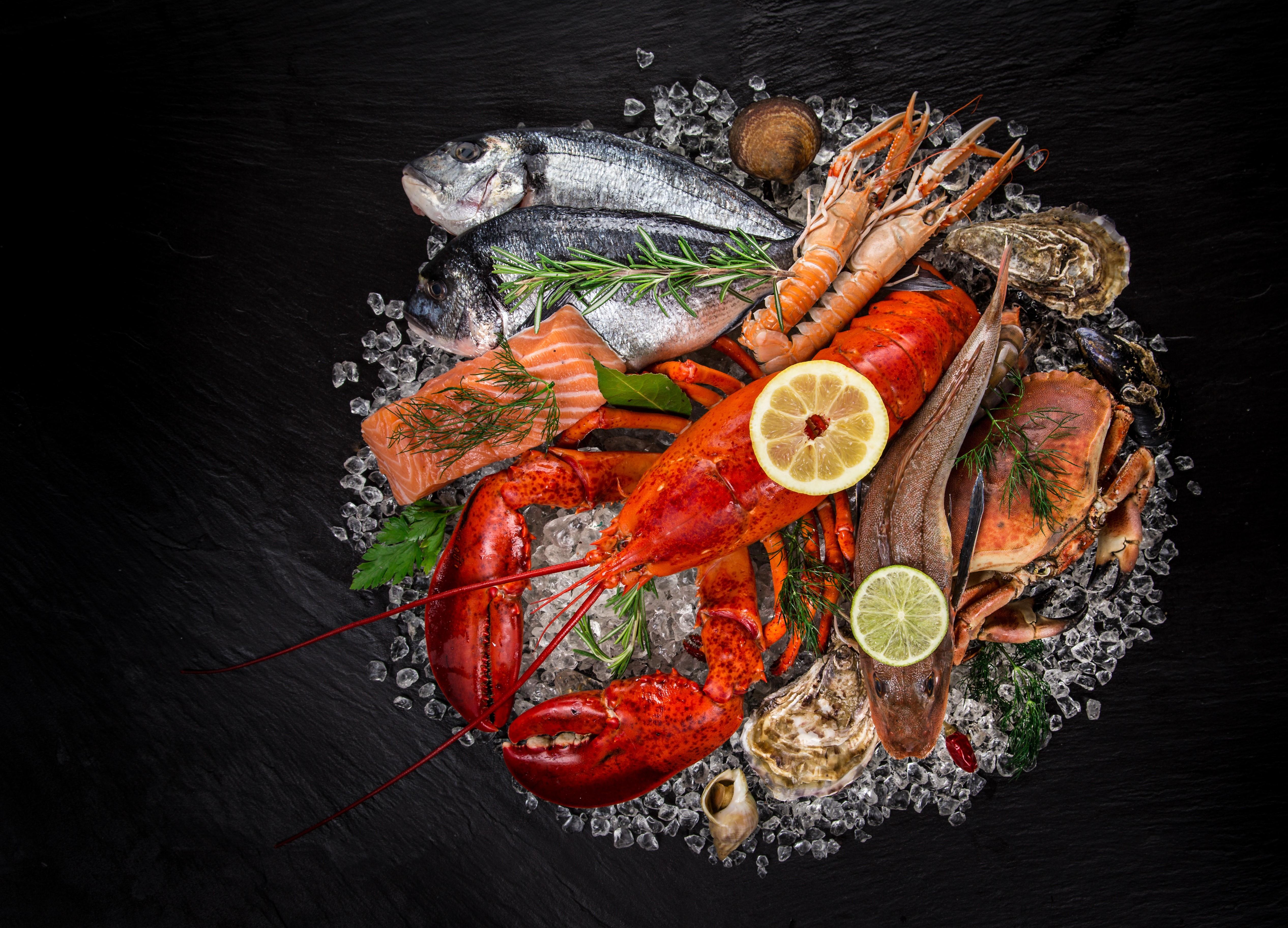 ليلة المأكولات البحرية