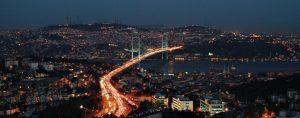 Mercure Hotel Istanbul The Plaza Şehir manzarası