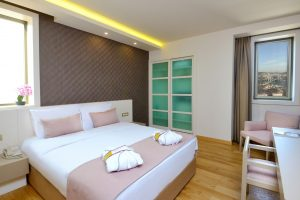 deluxe room 1 double bed bosphorus view room 1