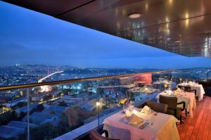mercure hotel istanbul the plaza skyline rooftop 3