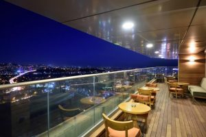 mercure hotel istanbul the plaza skyline rooftop 4