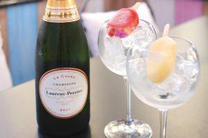 Terrasse d'été : Poptails champagne du Bar du Faubourg