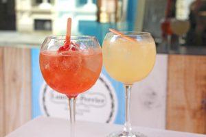Terrasse d'été : Poptails champagne au Bar du Faubourg