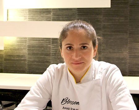 Anaïs Foray Cheffe du restaurant Blossom
