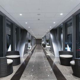 gallery Pool Hallway