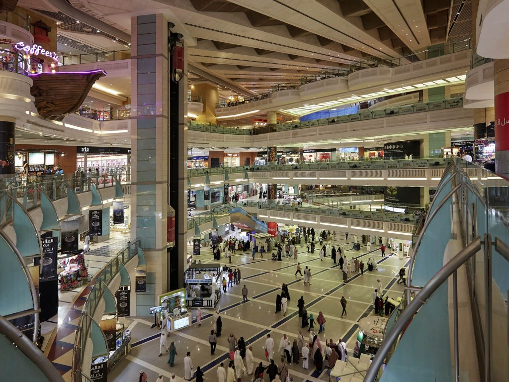Abraj Al Bait Mall interior