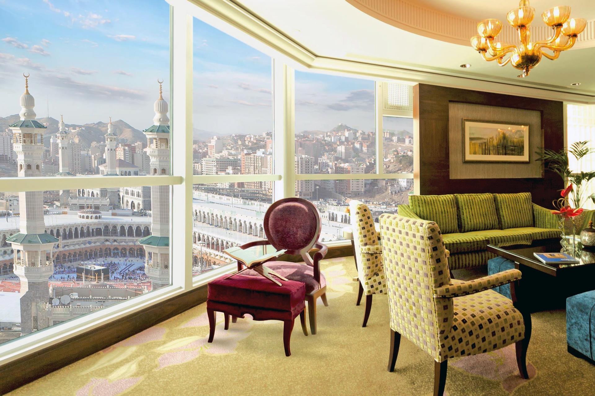 ACCORHOTELS Makkah - Raffles Makkah Palace suite ...