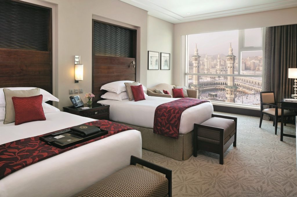 Fairmont Makkah Double Bedroom with Kaaba view