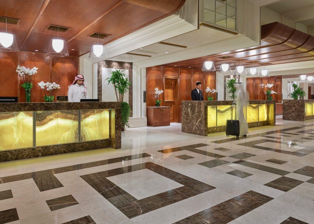Swissotel Al Maqam Lobby