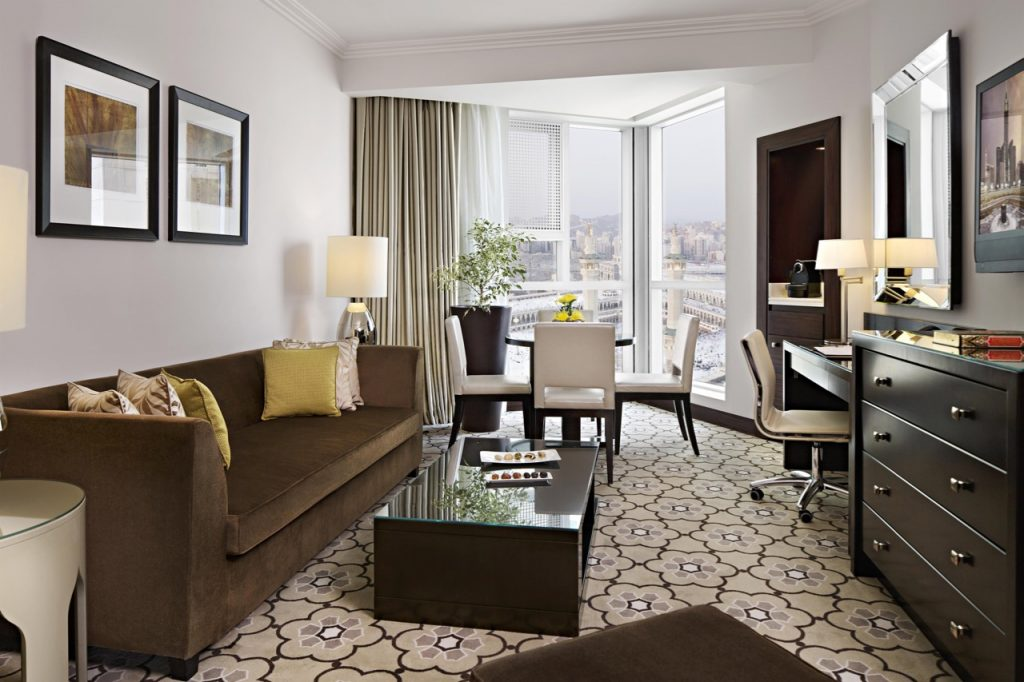 Swissotel Makkah Junior Suite Living Room