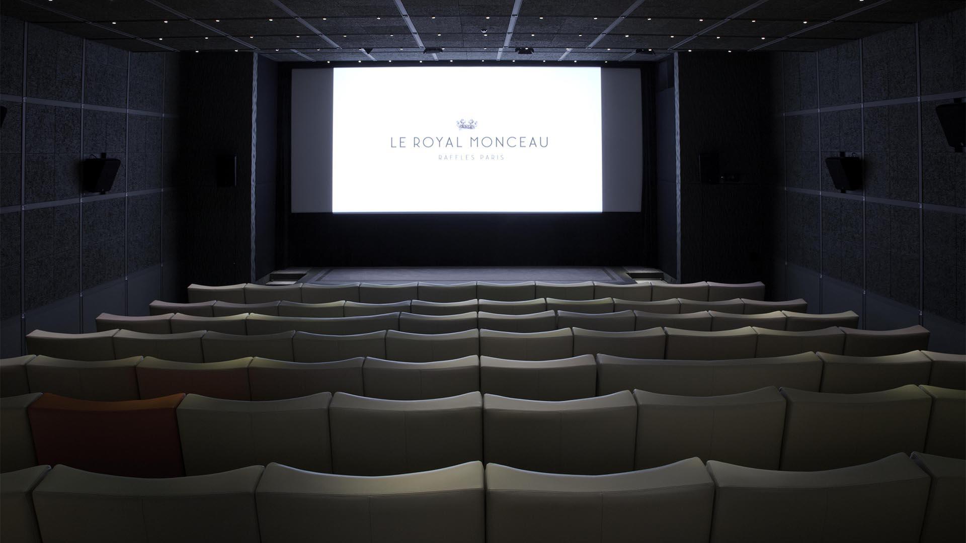 Katara private cinema   Le Royal Monceau Hotel