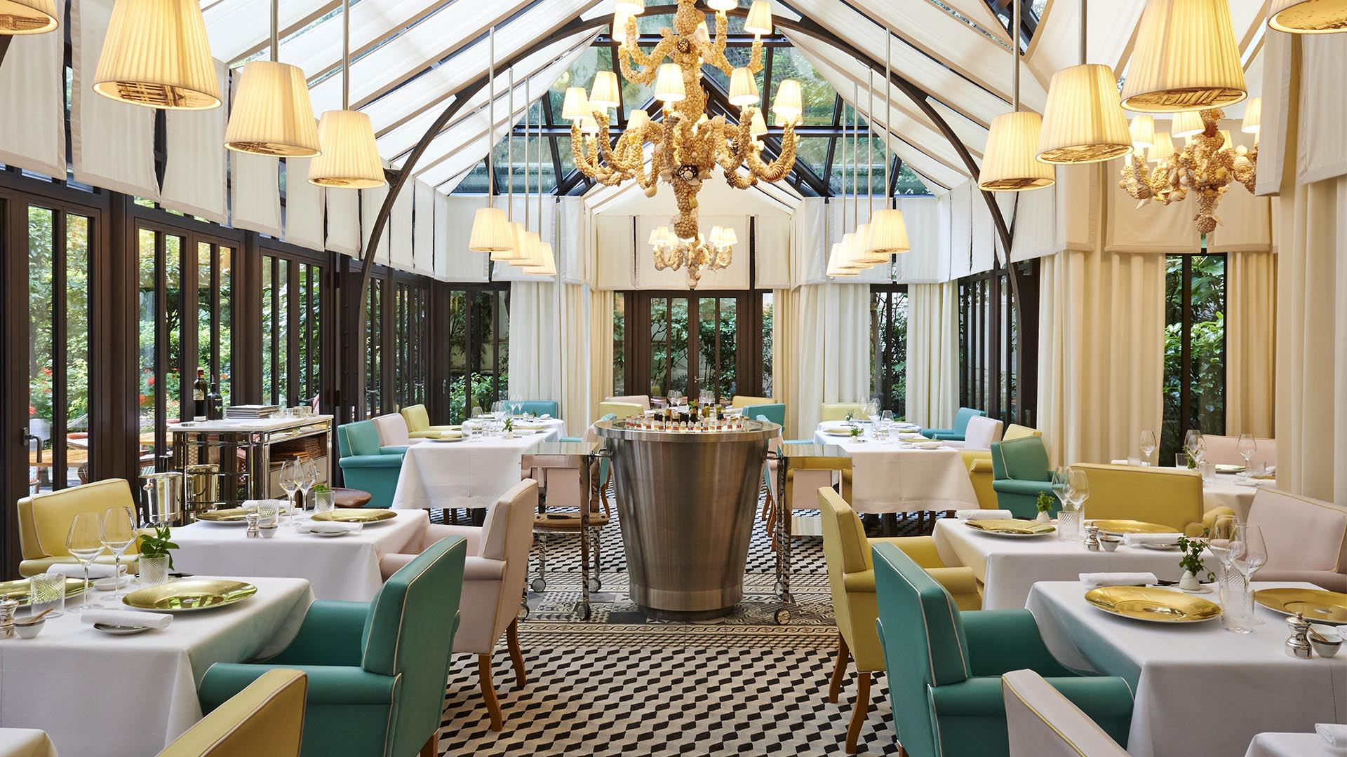 il carpaccio restaurant italien toil le royal monceau. Black Bedroom Furniture Sets. Home Design Ideas
