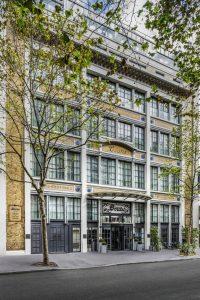 Facade hotel Paris Boutet