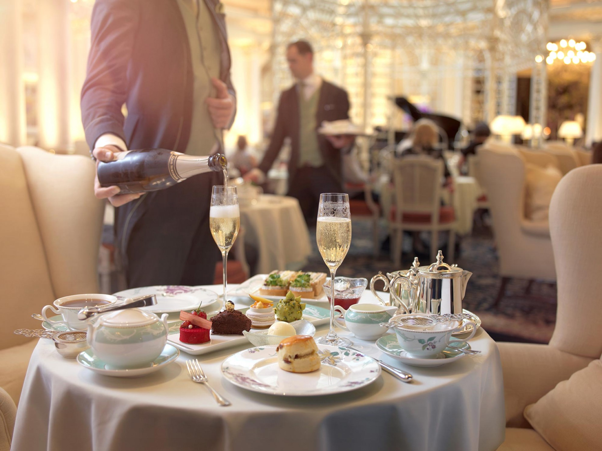 The Thames Foyer Afternoon Tea London The Savoy