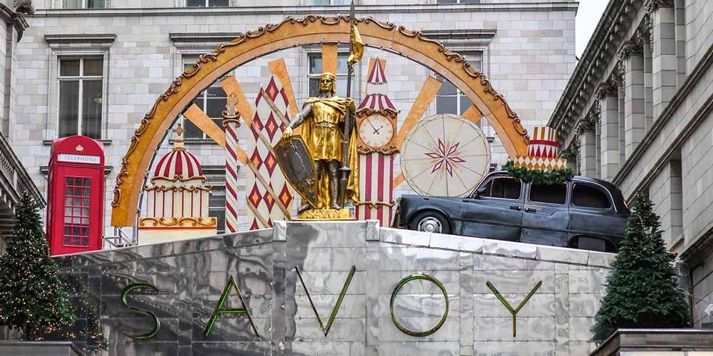 Christmas decorations Savoy 2018