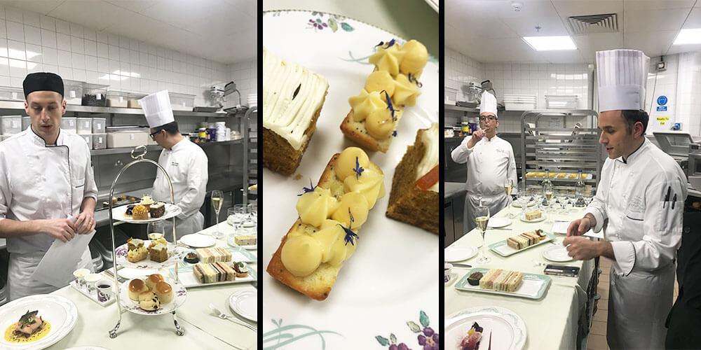 Savoy pastry chefs