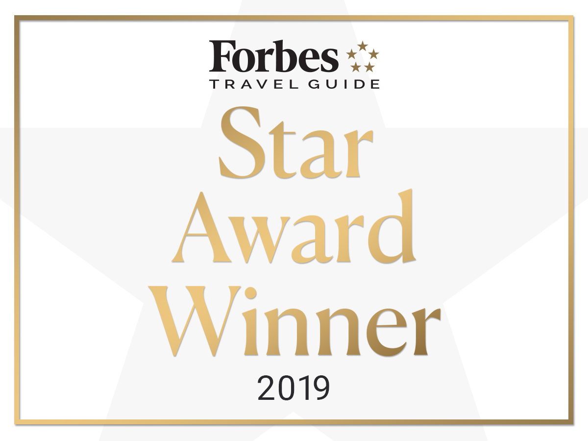 Forbes Five-Star award