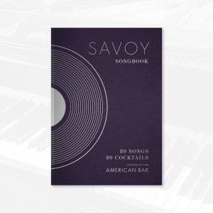 American Bar Savoy Songbook menu