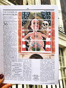 Benjamin Franklin Covent Garden