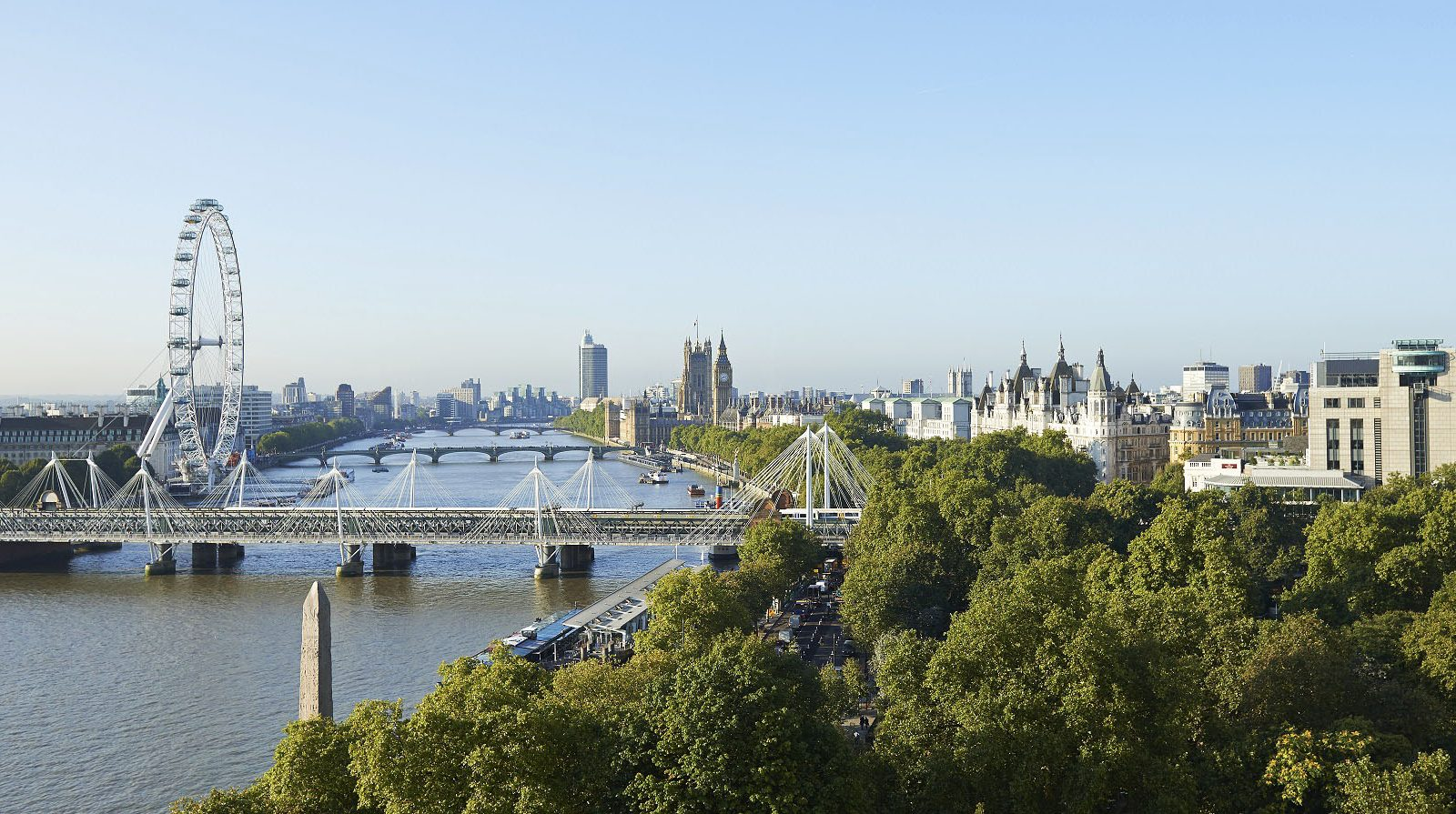 The Savoy Hotel View
